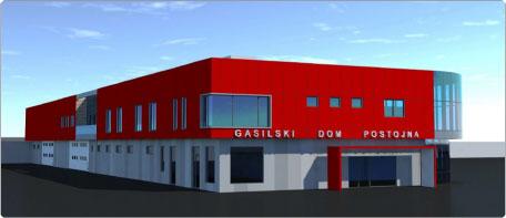 Novi Gasilski Dom Postojna Radio 94
